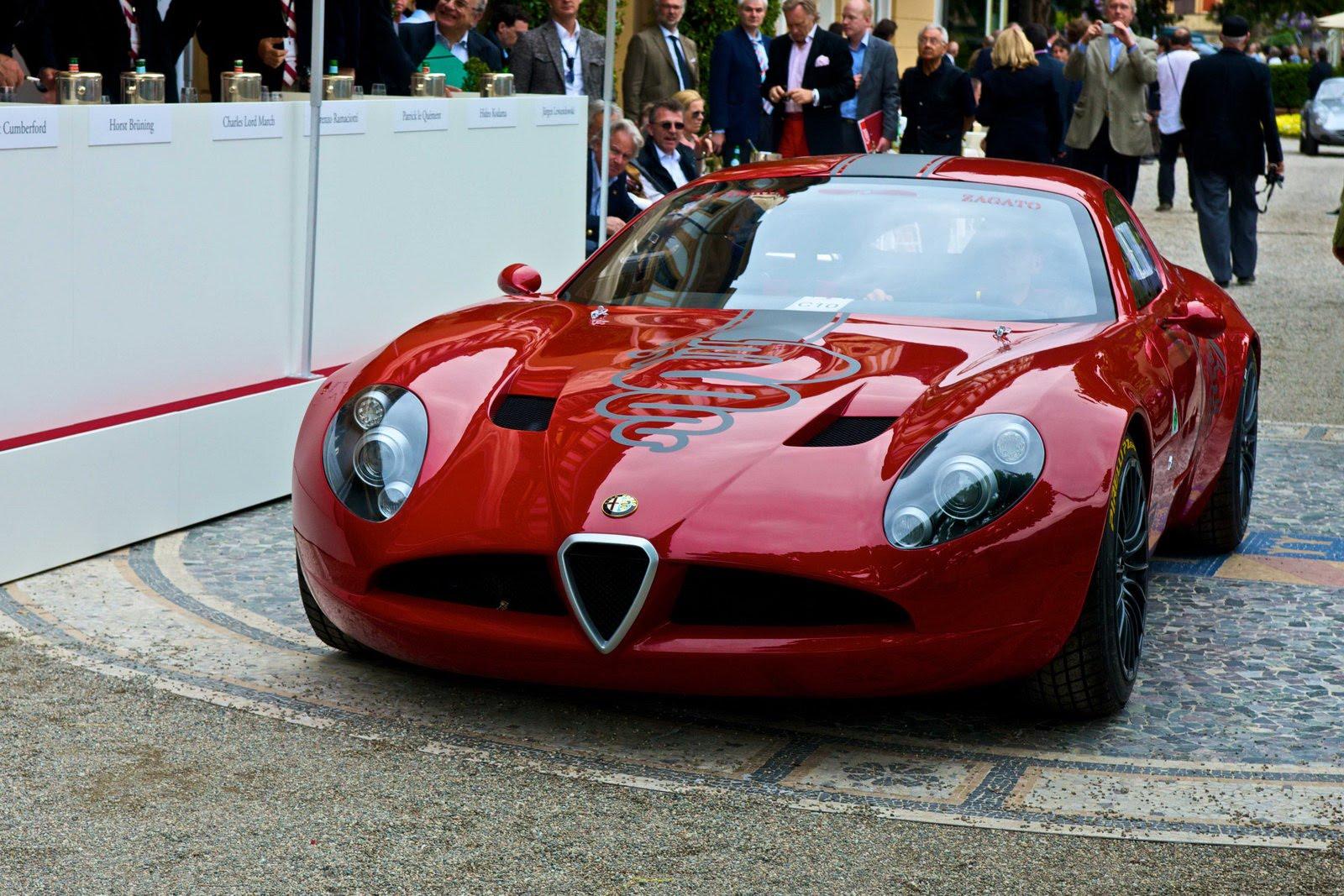 Nuova Alfa Romeo Tz3 Stradale Zagato