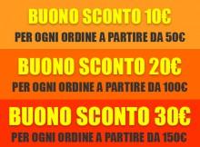 Sconto 10, 20, 30 Euro